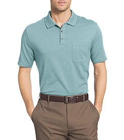 Van Heusen® Men's Big & Tall Luxe Touch Stripe Jacquard Polo