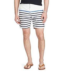 Polo Ralph Lauren® Monaco Striped Swim Trunks