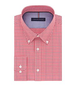 Tommy Hilfiger® Men's Gingham Slim Fit Button Down Dress Shirt