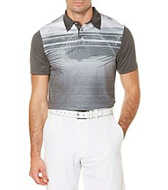 PGA TOUR® Men's Organic Chest Print Polo