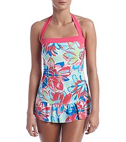 Relativity® Floral Printed Swim Dress