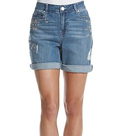 One 5 One® Boho Embroidered Shorts