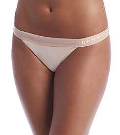 DKNY® Blush Classic Cotton Thong