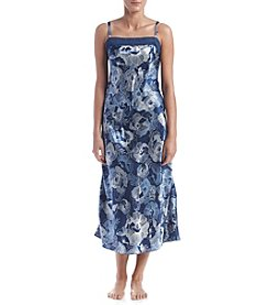 Jones New York® Satin Printed Gown