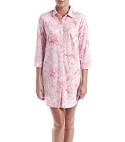 Lauren Ralph Lauren® Paisley Printed Sleep Shirt