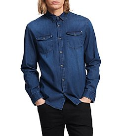 Calvin Klein Jeans® Men's Basic Long Sleeve Denim Shirt