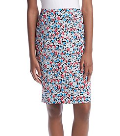 Nine West® Floral Pencil Skirt