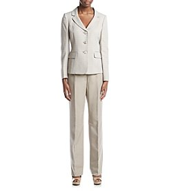 LeSuit® Three Button Jacket And Pant Suit Set