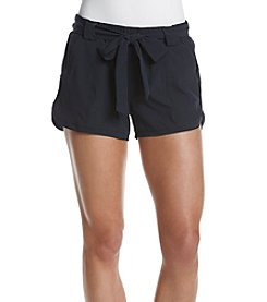 Marc New York Performance Tie Front Woven Shorts