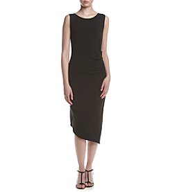 Calvin Klein Ruched Side Maxi Dress