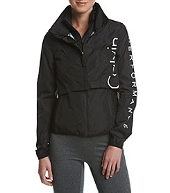 Calvin Klein Performance Logo Convertible System Jacket