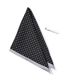 Nick Graham® Dotted Pocket Square