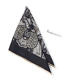 Nick Graham® Paisley Pocket Square