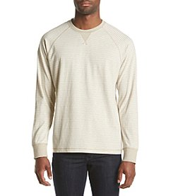 Paradise Collection® Men's Long Sleeve Stripe Crew Sweater