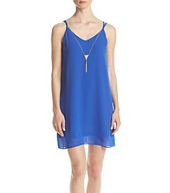 A. Byer Strappy Shift Dress