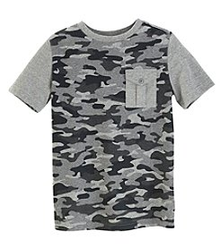 Ruff Hewn Boys' 8-20 Military Camo Pocket Tee
