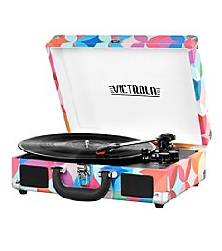 Victrola® 3-Speed Bluetooth® Suitcase Turntable with Speakers