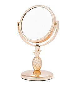Upper Canada Pineapple Mini Mirror Gold