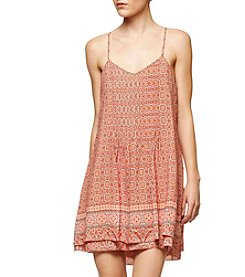 Sanctuary® Strappy Tile Dress