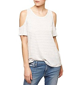 Sanctuary® Cold Shoulder Tee