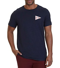 Nautica® Dry Goods Graphic V-Neck Tee