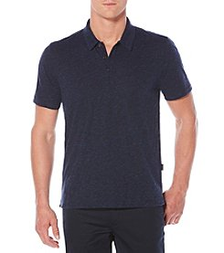Perry Ellis® Solid 3-Button Polo Shirt