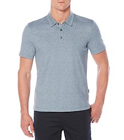 Perry Ellis® Pima Print Polo Shirt