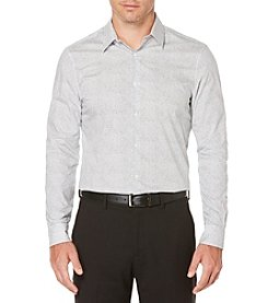 Perry Ellis® Travel Luxe Mosaic Dress Shirt