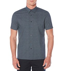 Perry Ellis® Short Sleeve Geometric Shirt
