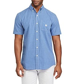 Chaps® Short-Sleeve Checked Shirt