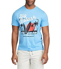 Chaps® Tropical Surfing Graphic Tee