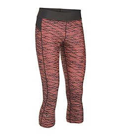 Under Armour® HeatGear® Printed Capri Leggings