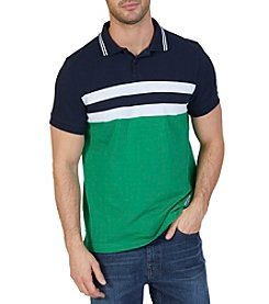 Nautica® Men's Classic Fit Heritage Colorblocked Polo Shirt