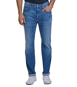 Nautica® Men's Straight Fit Pure Blue Wash Jeans