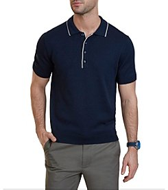 Nautica® Classic Fit Tipped Sweater Polo Shirt