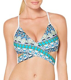 Coastal Zone® Diamond Wrap Bikini Top