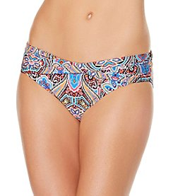 Jantzen® Paisley Twist Band Bikini Bottoms