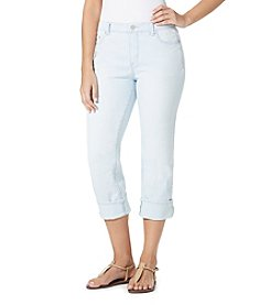 Bandolino® Karyn Denim Stripe Capri Pants