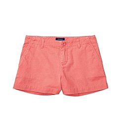 Polo Ralph Lauren® Girls' 2T-6X Chino Shorts