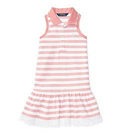 Polo Ralph Lauren® Girls' 2T-6X Mesh Polo Dress