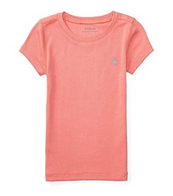 Polo Ralph Lauren® Girls' 2T-4T Crew Top