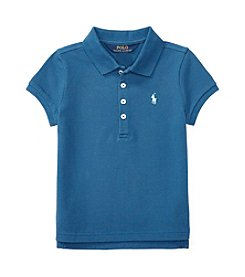 Polo Ralph Lauren® Girls' 2T-6X Mesh Polo Top