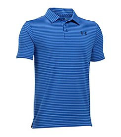 Under Armour® Boys' 8-20 Playoff Striped Polo