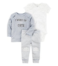 Carter's® Baby Boys' I Woke Up Cute 3-Piece Set