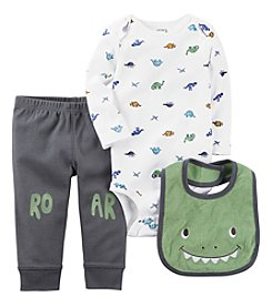 Carter's® Baby Boys' 3-Piece Roar Set