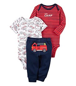 Carter's® Baby Boys' 3-Piece Fire Truck Set