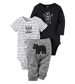 Carter's Baby Boys' 3 Piece Wild Bear Set