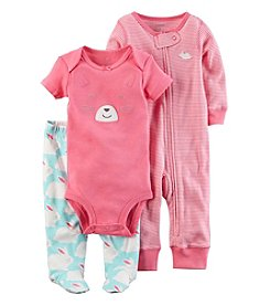 Carter's® Baby Girls' 3-Piece Bunny Set
