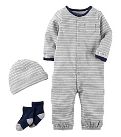 Carter's® Baby Boys' 3-Piece Striped Bodysuit Set