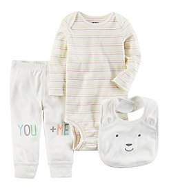 Carter's® Baby 3-Piece You + Me Set